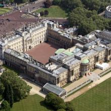 Buckingham Palace from the sky