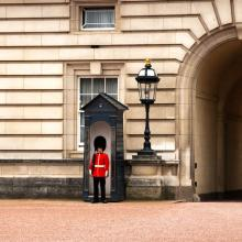 English Royal Guard