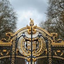 Doors of Buckingham Palace