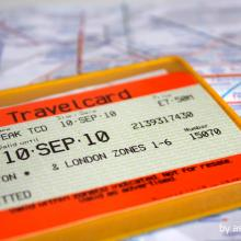 Travelcard by asta adamonyte